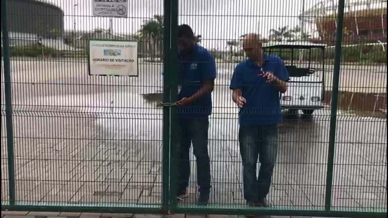 Prefeitura do Rio acata decisão e lacra o Parque Olímpico