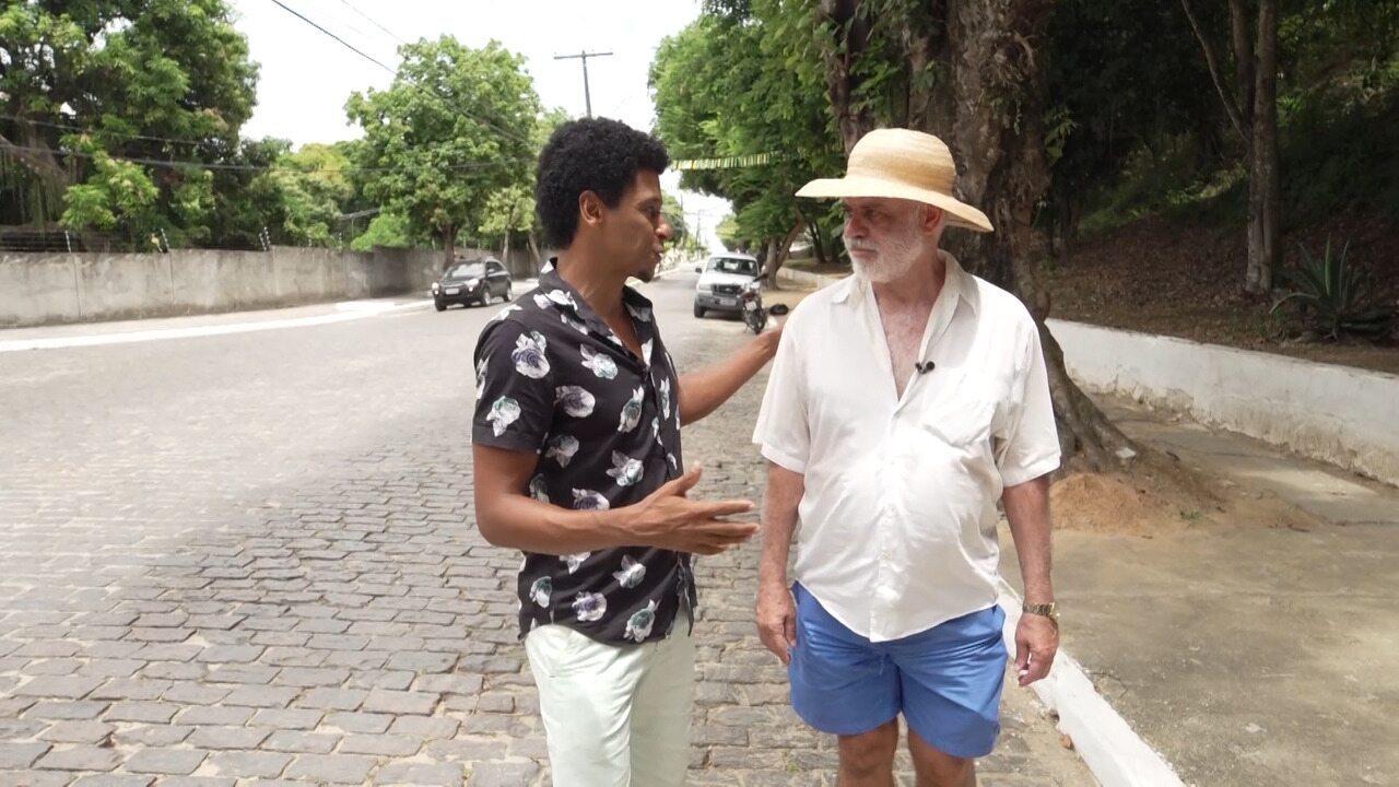 Professor Milton Moura conta memórias da Ilha de Itaparica