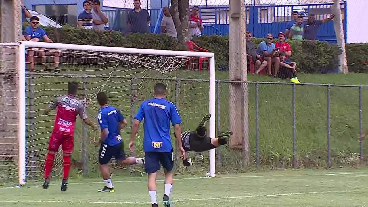 Cruzeiro vence jogo-treino com o Guarani-MG antes de estreia no Campeonato Mineiro