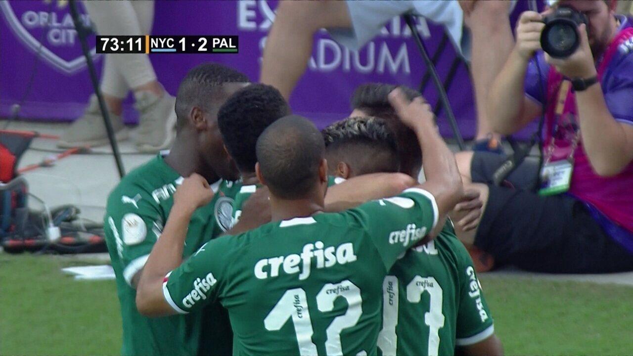 Os gols de New York City 1 x 2 Palmeiras pelo Torneio da Flórida