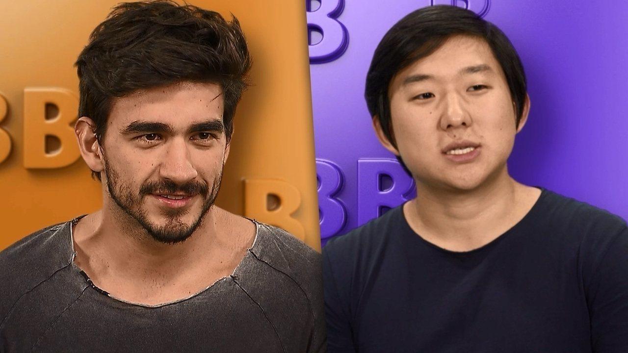 Guilherme e Pyong Lee são participantes do BBB20