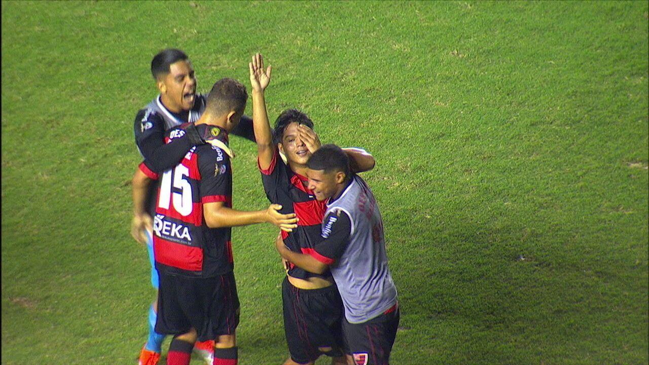 Gols de Oeste 2 x 1 São Paulo pelas quartas de final da Copa SP de Futebol Júnior