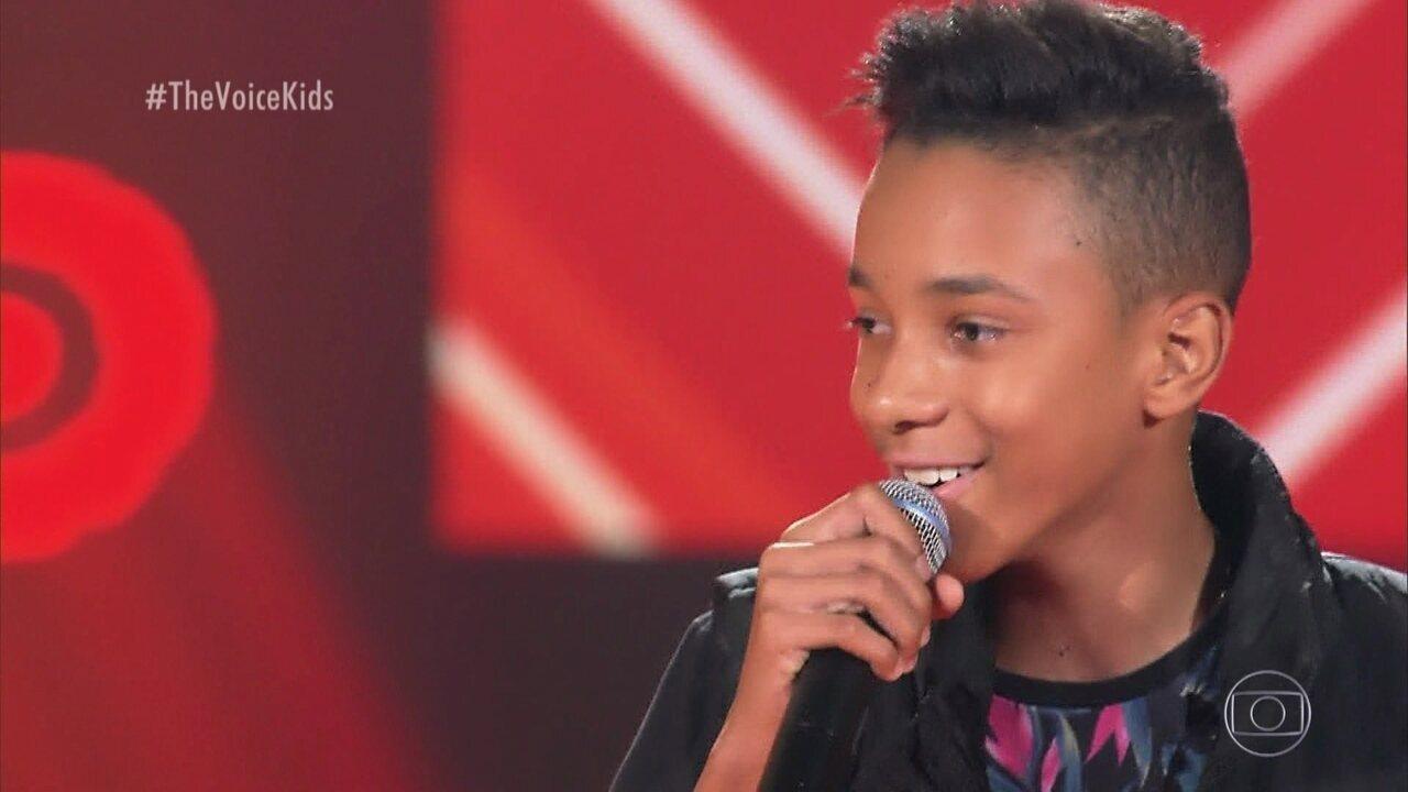 Luank Dias canta 'Perrengue' nas Audições às Cegas