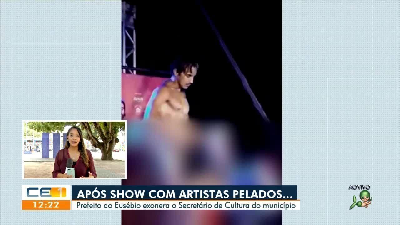 Prefeito de Eusébio exonera secretário da Cultura após evento com atores nus