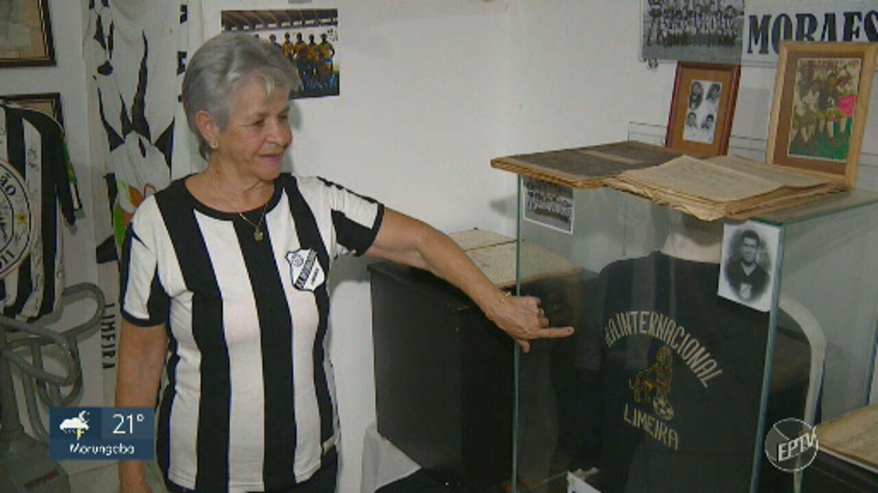 Torcedora fanática, Dona Marinez é apaixonada pela Inter de Limeira há mais de 60 anos