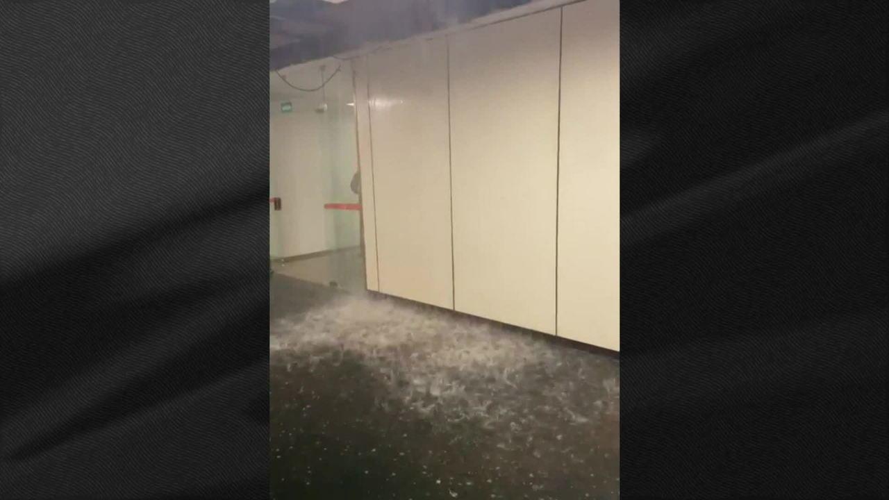 Cano se rompe e gabinetes da Câmara dos Deputados ficam inundados