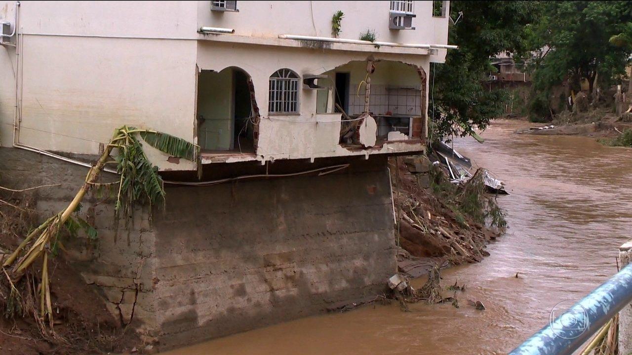 Espírito Santo decreta estado de calamidade em quatro municípios do Sul do estado