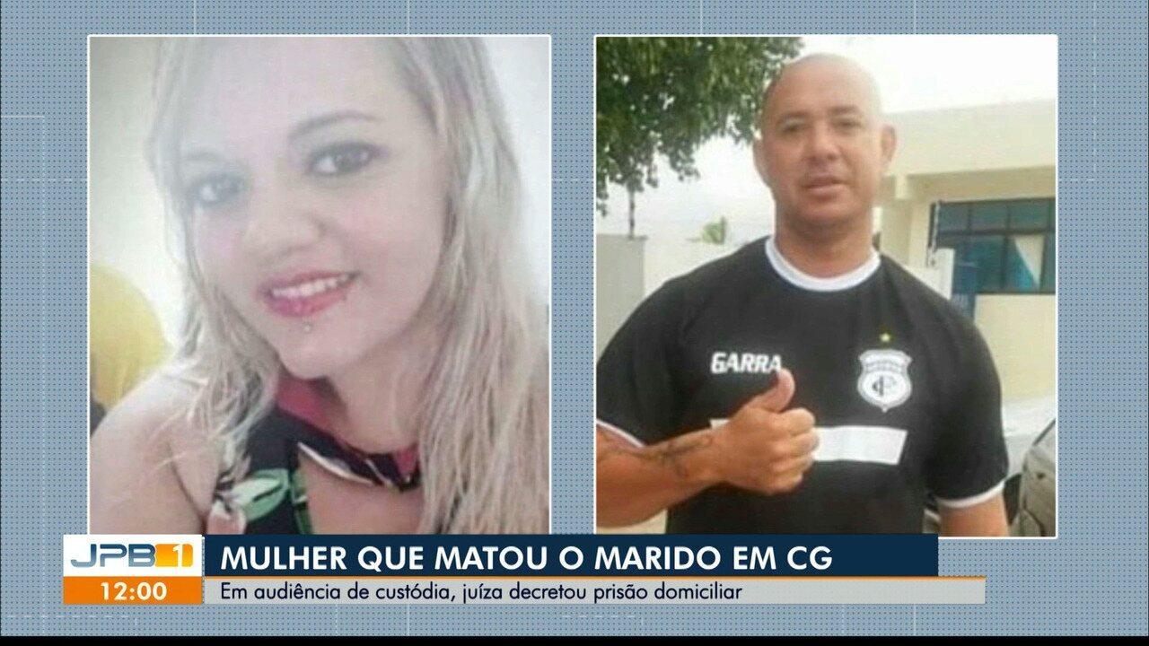 Em audiência de custódia, mulher confessa que matou marido, em Campina Grande