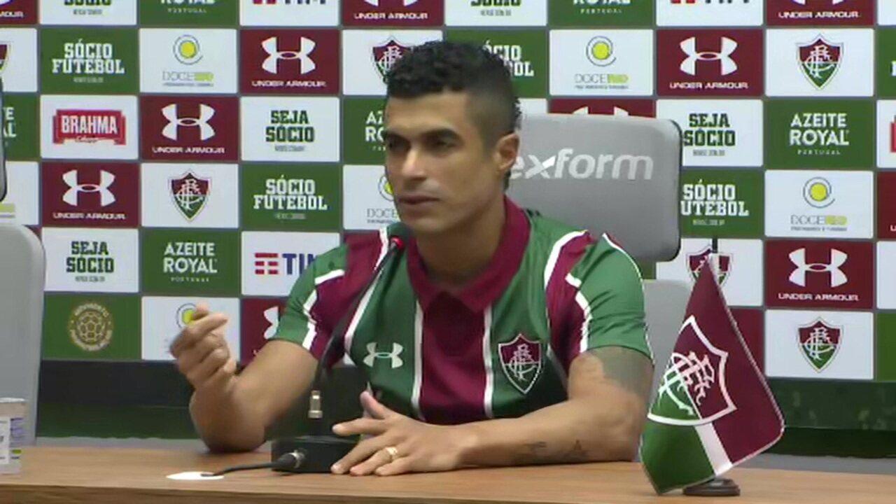 """Egídio acredita na possibilidade do Fred voltar ao Fluminense e diz: """"Falo com ele diariamente"""""""