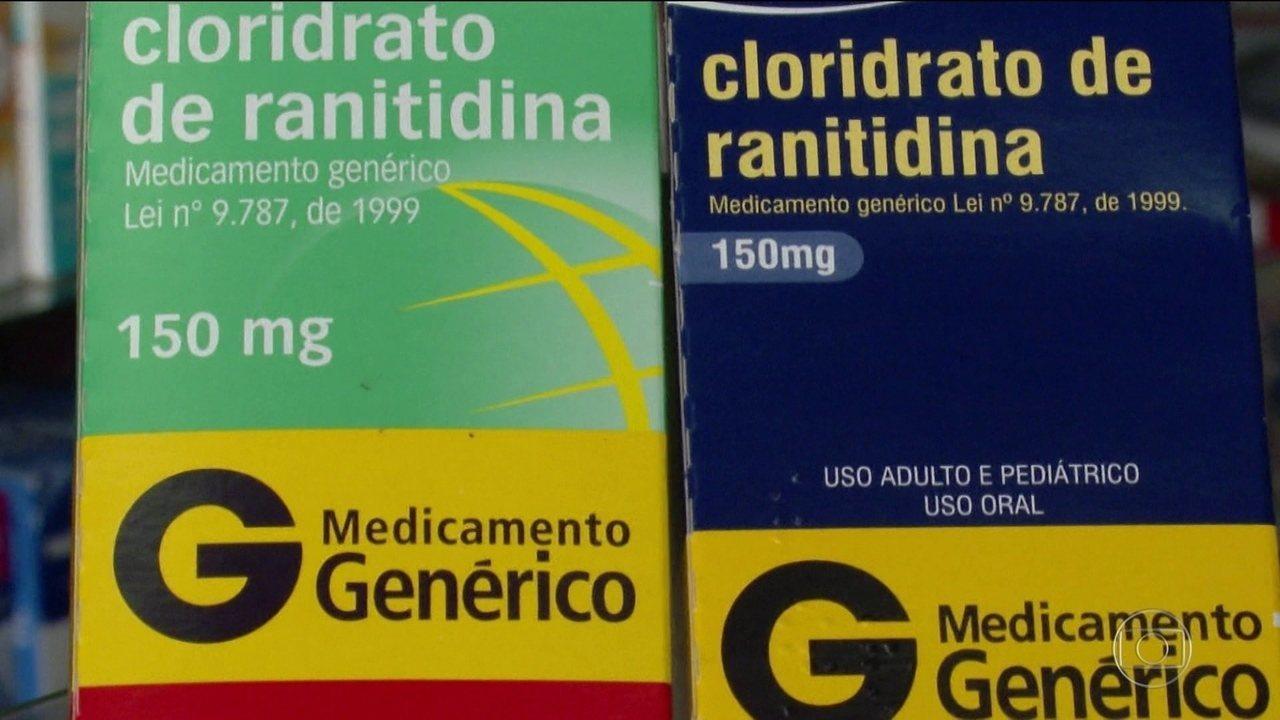 Seis laboratórios recolhem lotes de remédio para digestão