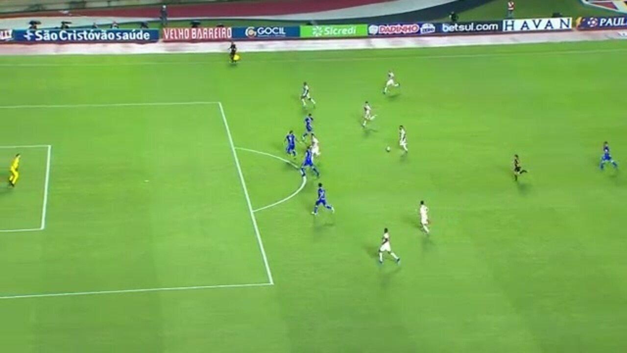 Daniel Alves faz golaço tático para o São Paulo; Ricardinho analisa