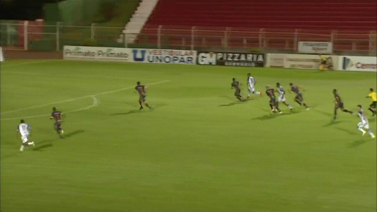 Veja os gols de Toledo 1 x 1 União, pela segunda rodada do Paranaense