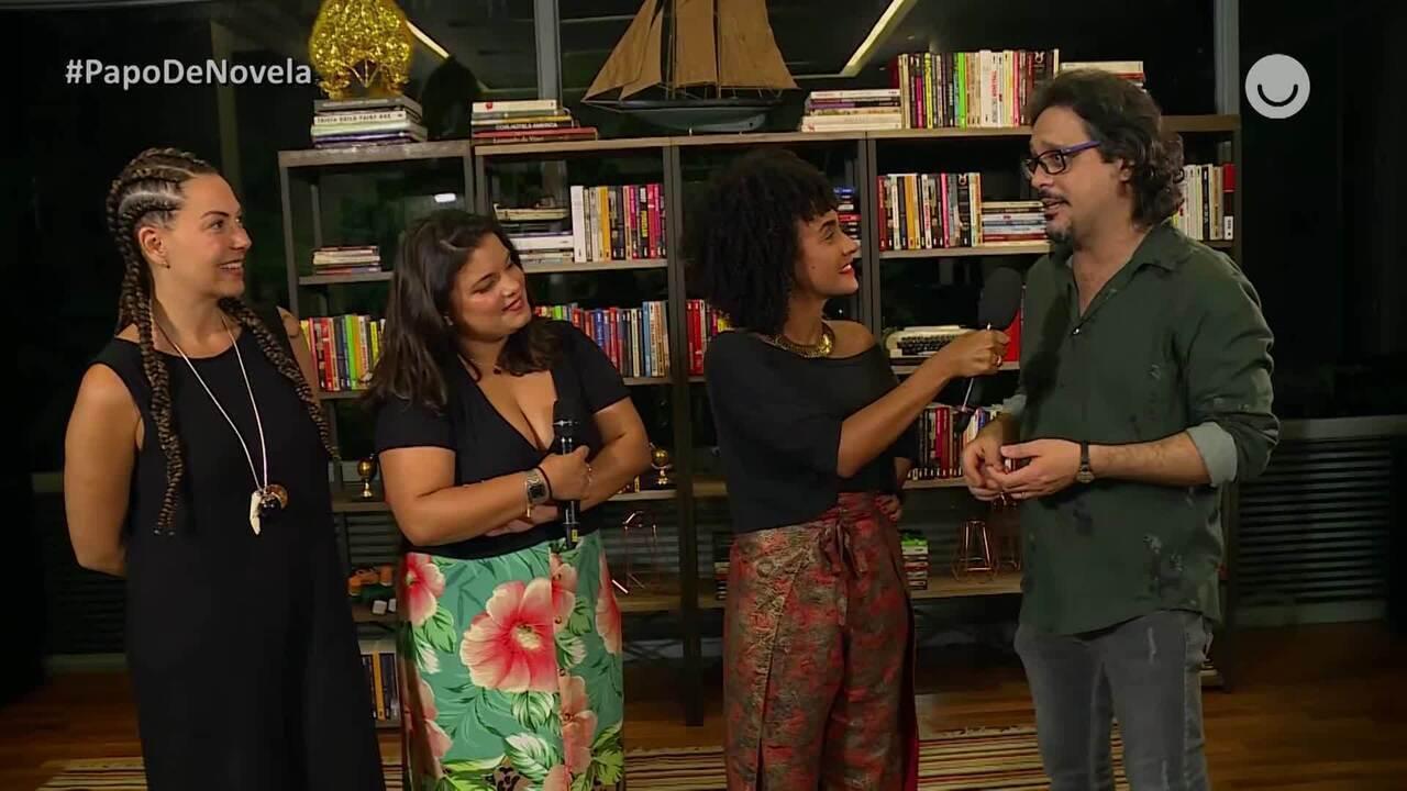 Papo de Novela - Fabiula Nascimento e Lucinho Mauro falam sobre final de 'Bom Sucesso'