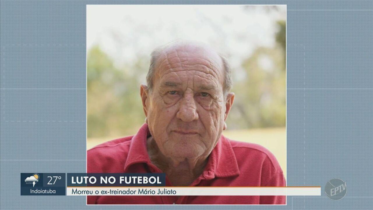 Morre Mário Juliato, ex-treinador da Ponte Preta, aos 75 anos