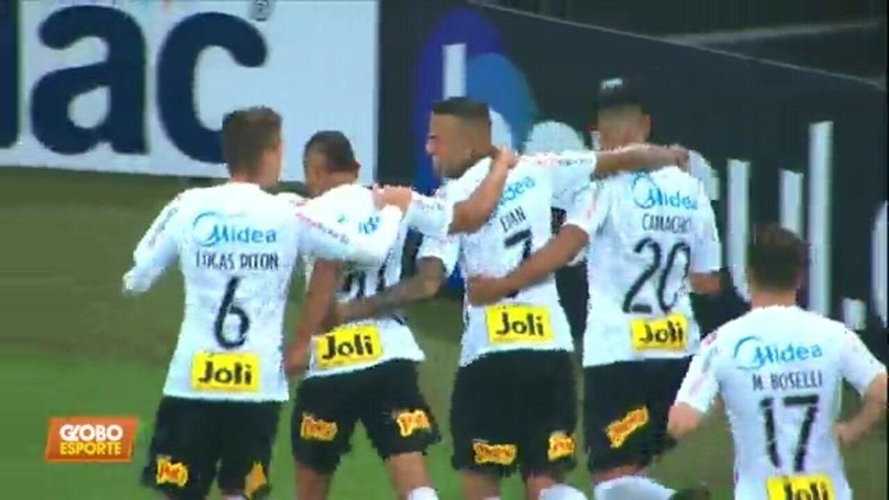 Corinthians estreia com goleada no Paulistão