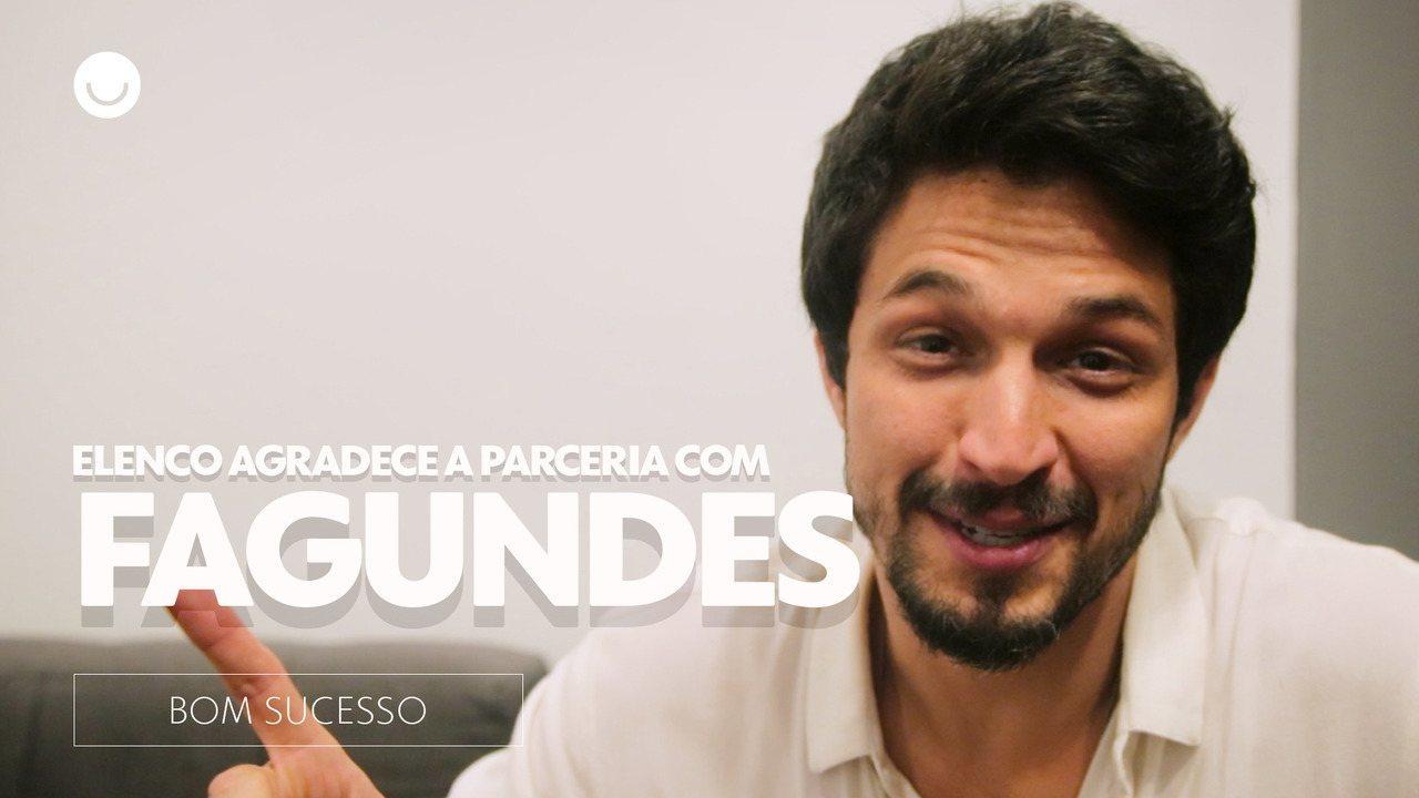 Elenco de 'Bom Sucesso' agradece a parceria com Antônio Fagundes