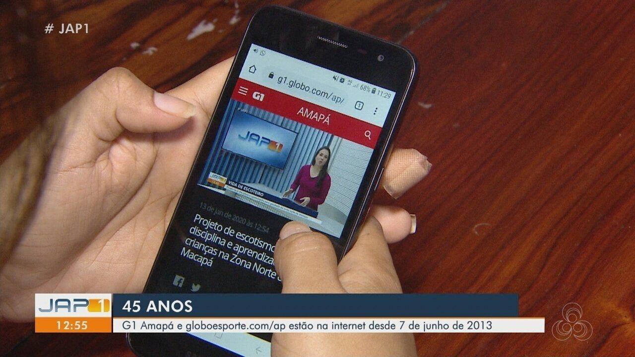 Rede Amazônica 45 anos: G1 e GloboEsporte.com integram e complementam informação na web