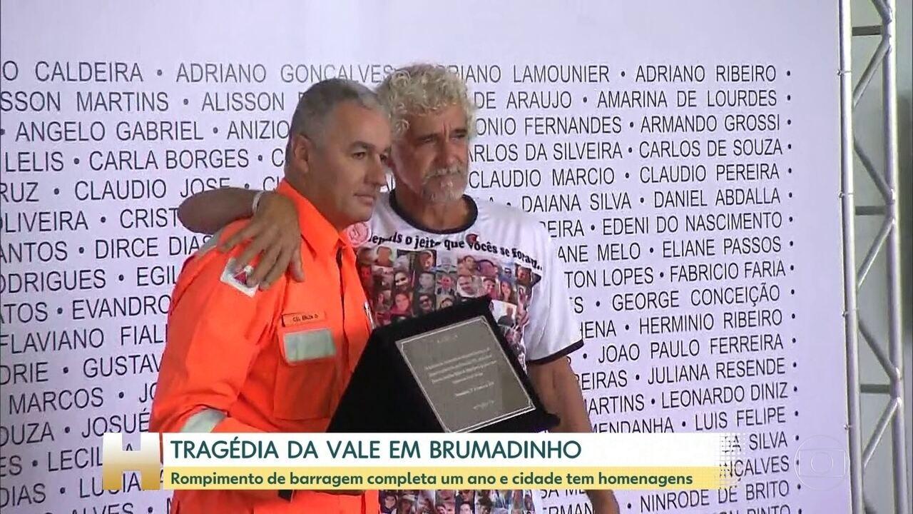 Rompimento da barragem em Brumadinho completa um ano neste sábado