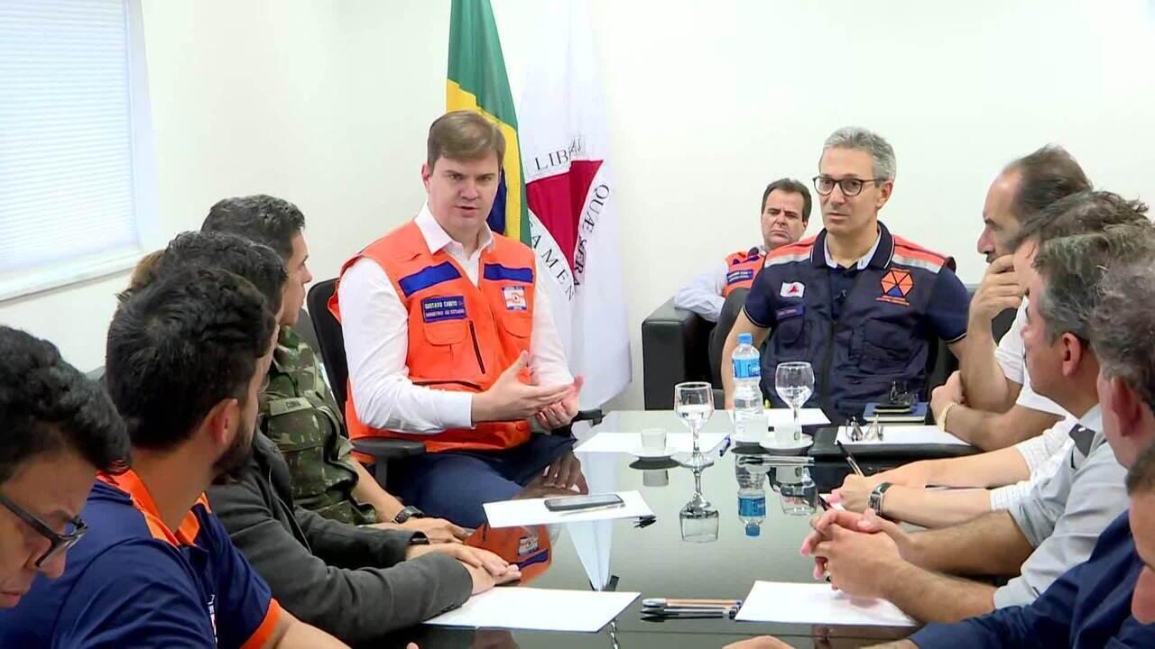 Autoridades se reúnem para discutir situação de Minas após chuva que deixou 37 mortos