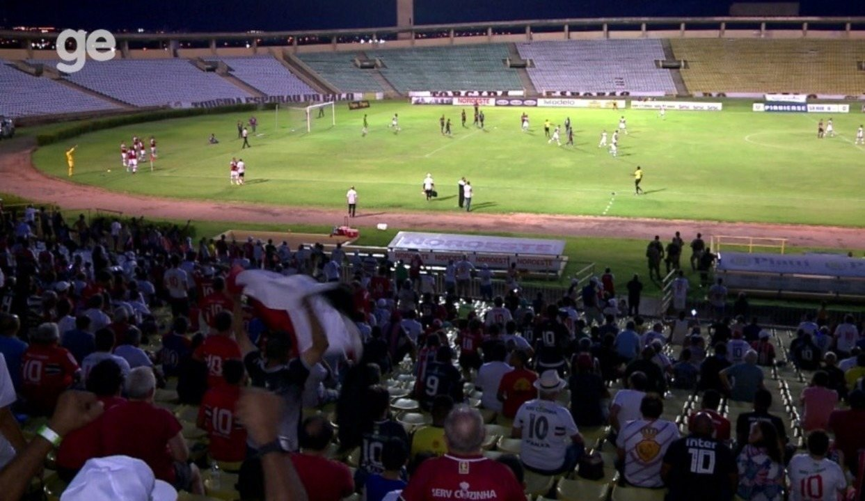 Os gols de River-PI 1 x 1 Piauí - 2ª rodada do Campeonato Piauiense 2020