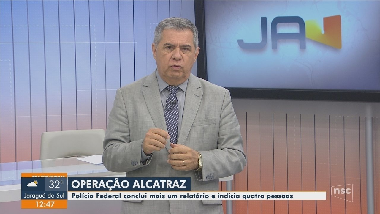 Polícia Federal conclui novo relatório e indicia quatro pessoas na Operação Alcatraz
