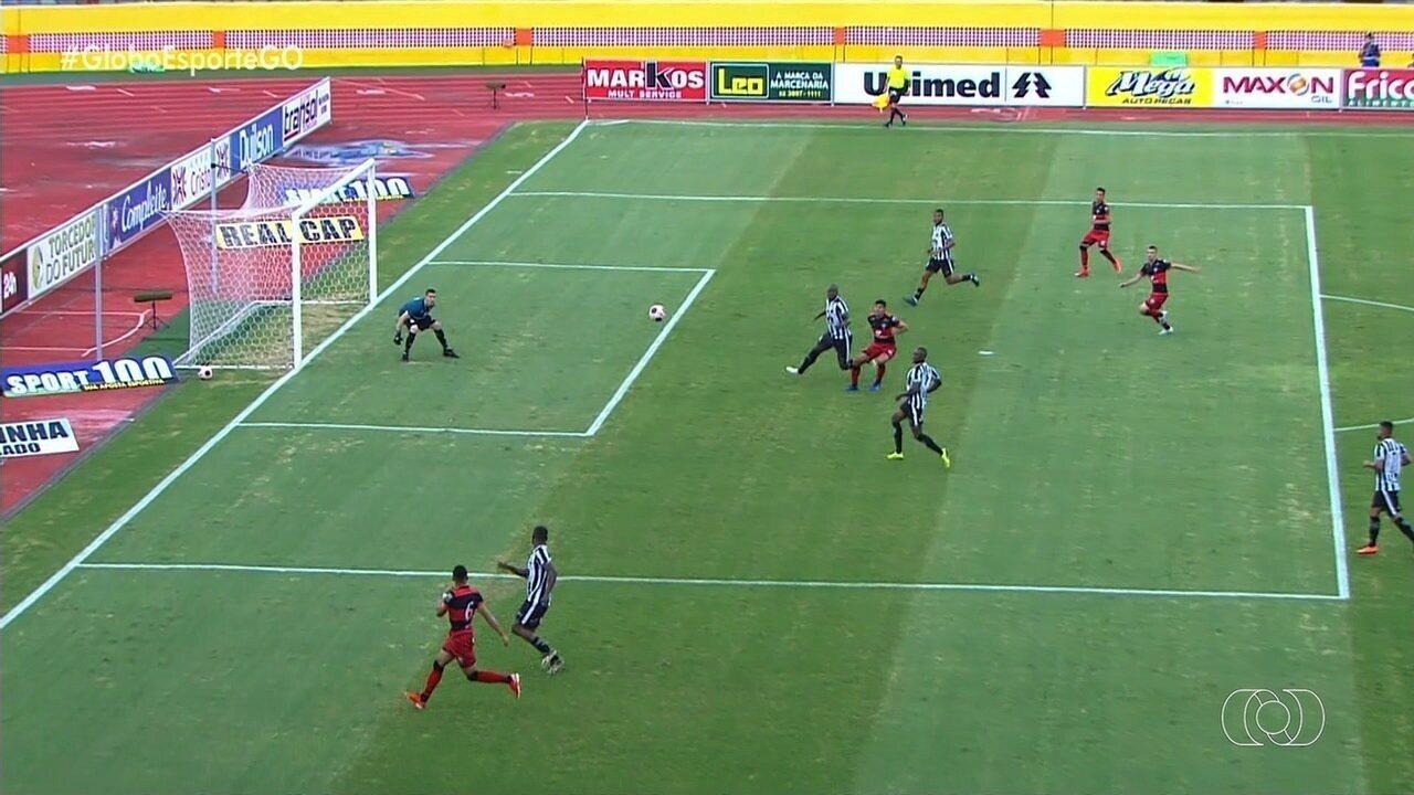 Atlético-GO goleia o Goiânia por 5 a 0 no Olímpico