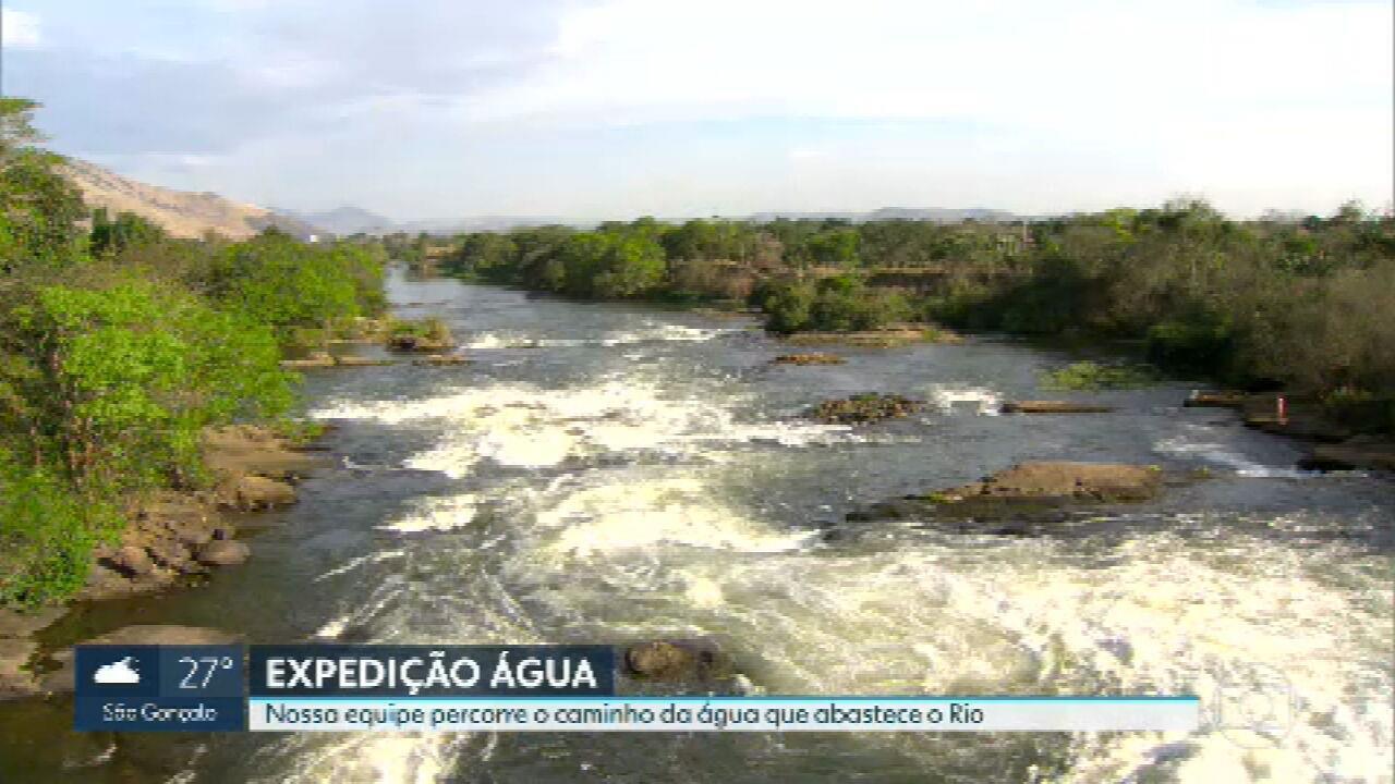 RJ2, RJ1 e Bom Dia Rio começam cobertura especial sobre poluição dos rios do estado