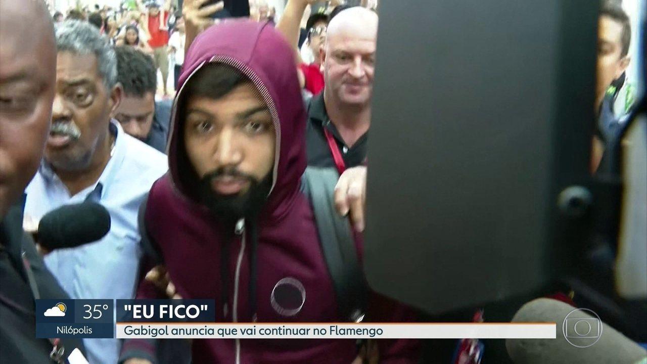 Gabigol fica no Flamengo