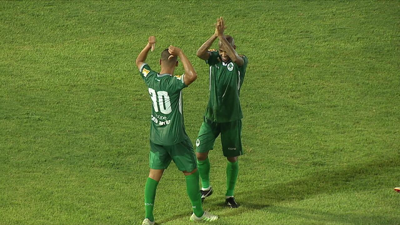 Os gols de Boavista 3 x 1 Madureira pela 4ª rodada do Campeonato Carioca