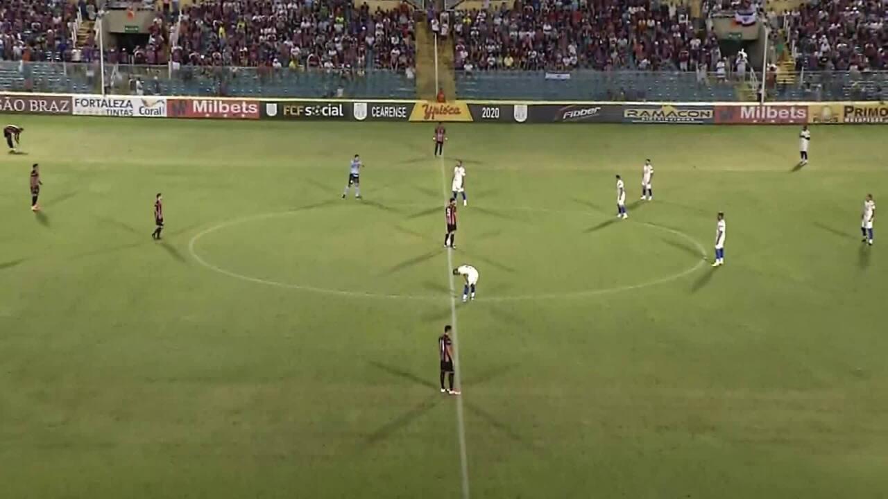 Caucaia 0 x 1 Fortaleza: confira os melhores momentos da partida pelo Campeonato Cearense