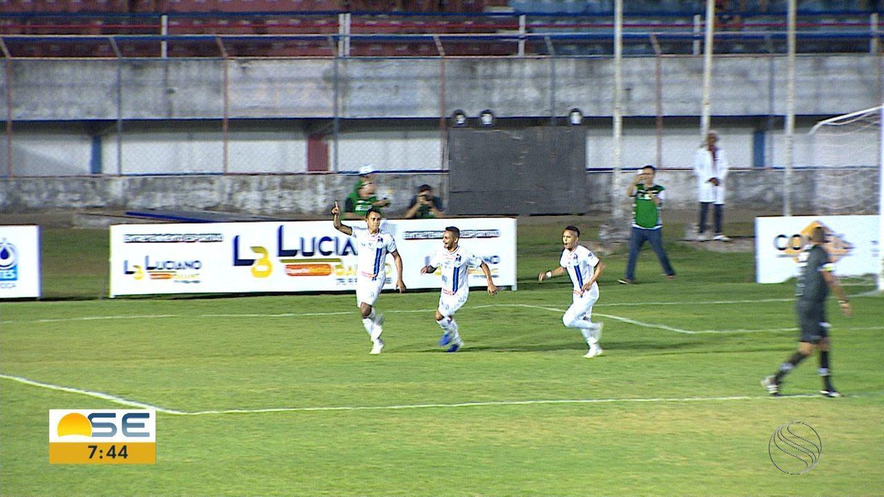 Confiança derrota o Itabaiana no Mendonção; veja o gol!