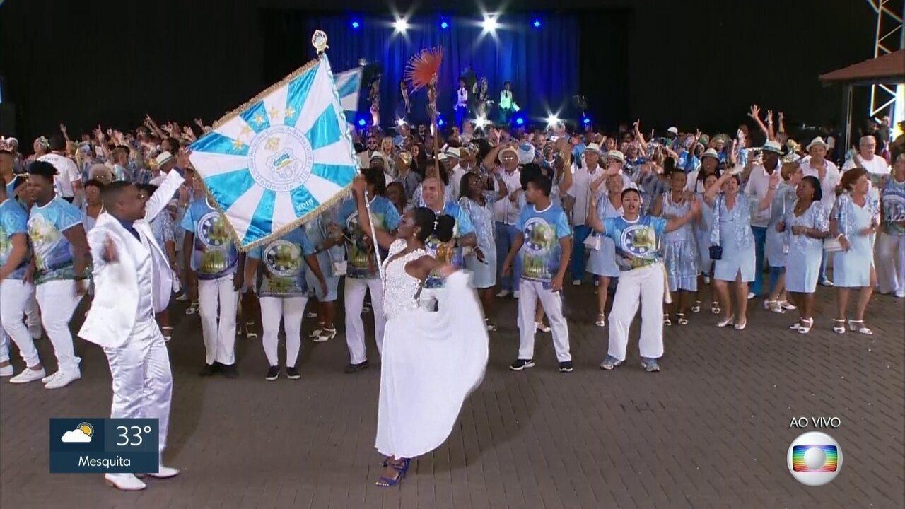Vila Isabel dá uma prévia do que vai rolar no desfile do carnaval 2020