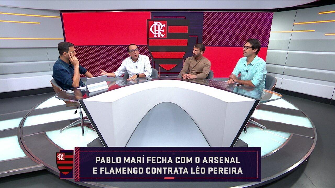 Comentaristas falam sobre a saída de Pablo Marí e a chegada de Léo Pereira no Flamengo