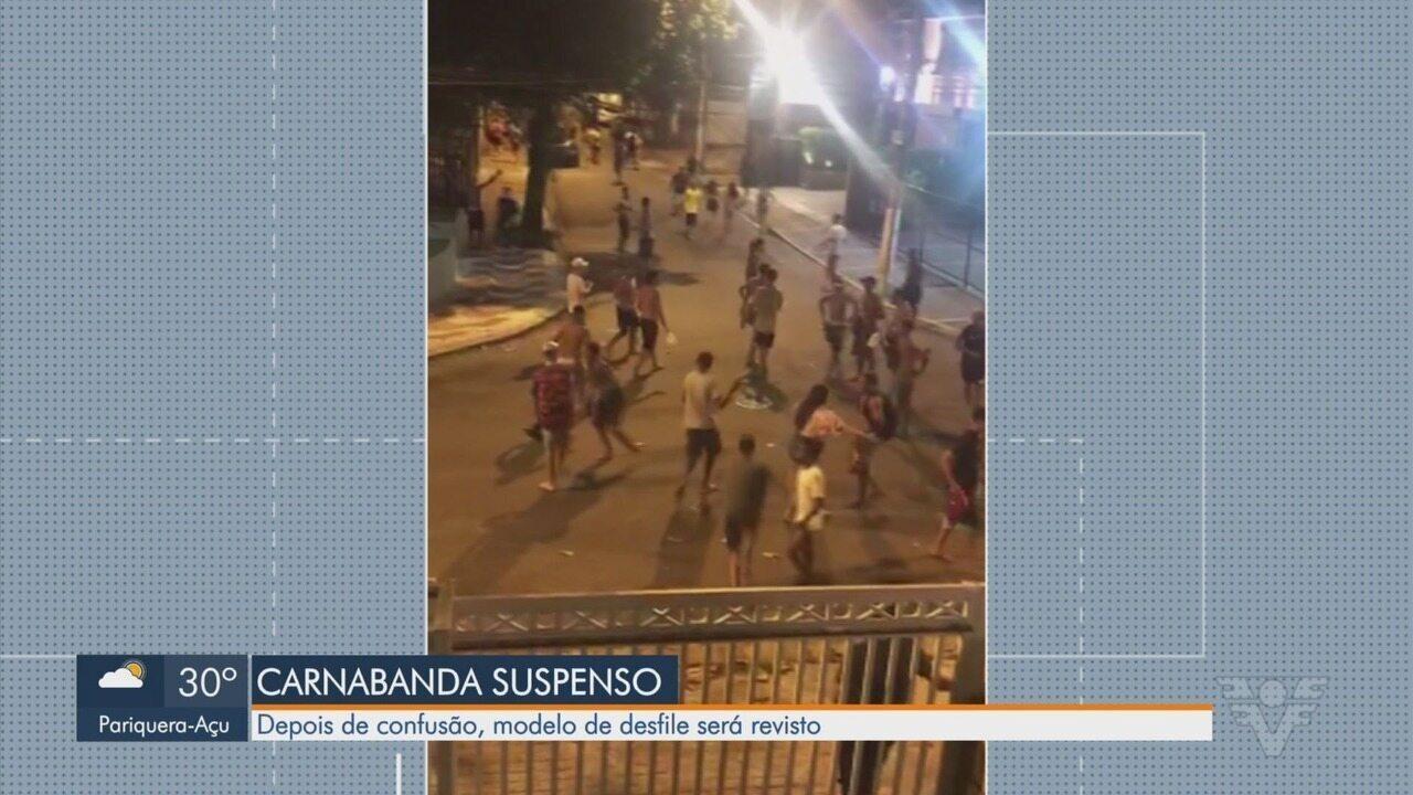Desfile de banda no Gonzaga, em Santos, termina em confusão