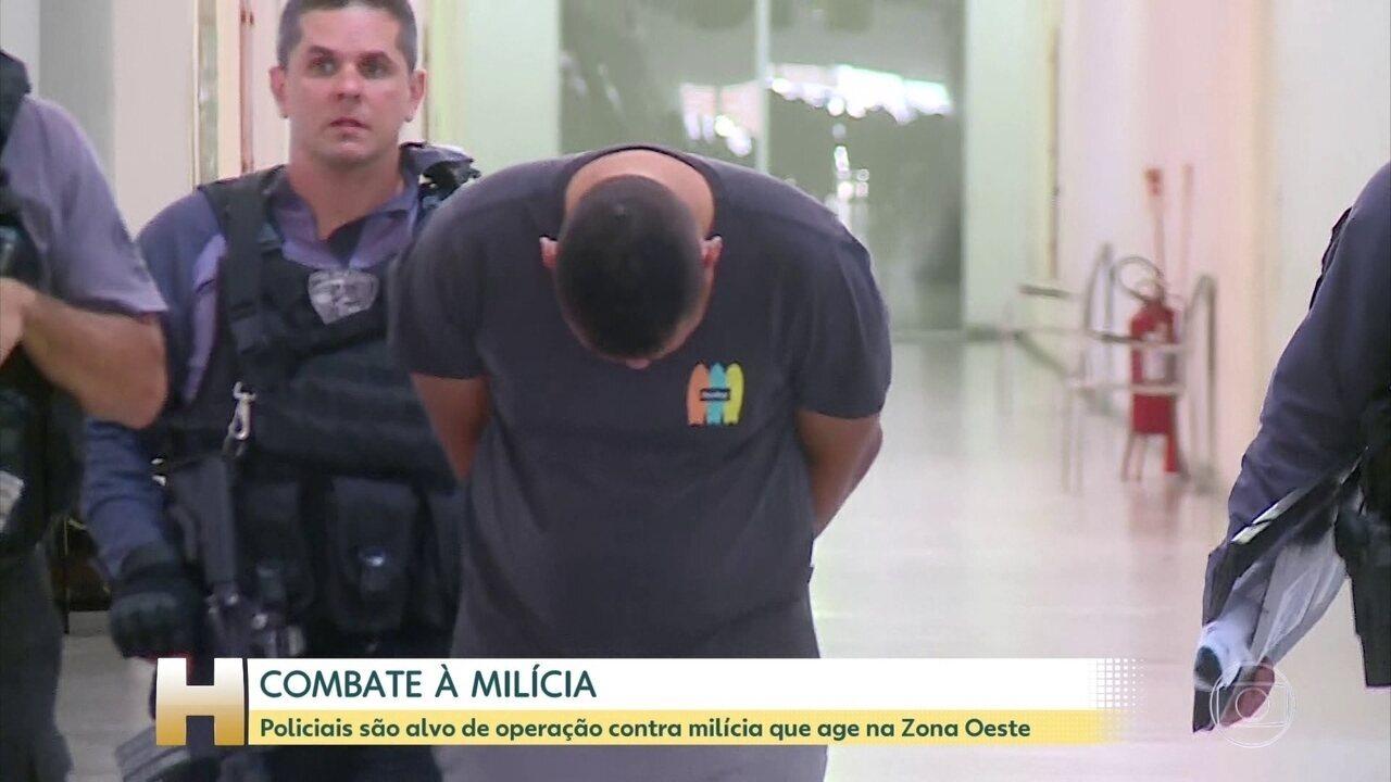 Polícia e MP prendem 33 suspeitos em operação contra milícia da Zona Oeste do Rio