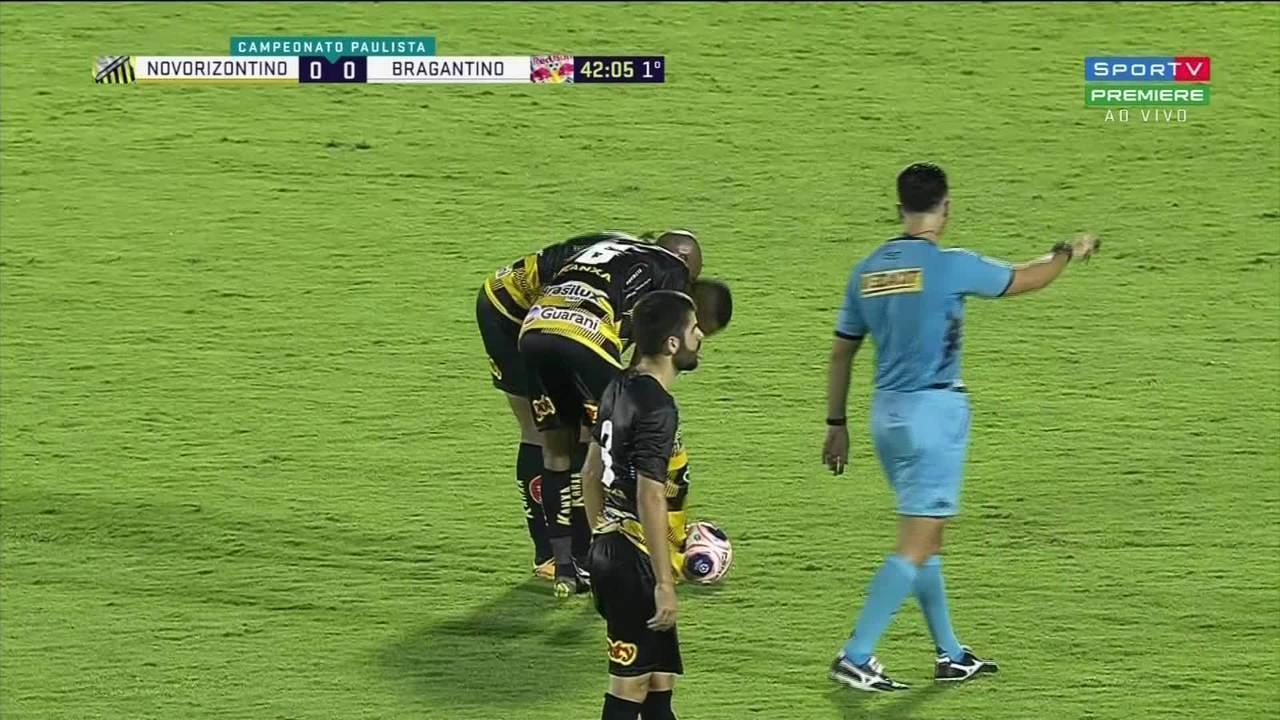 Assista aos melhores momentos de Novorizontino 0 x 0 Bragantino