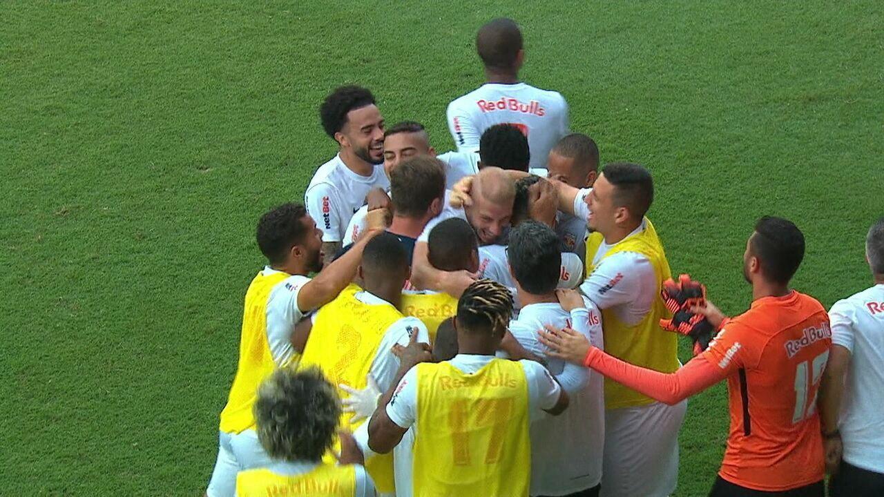 Gols de Bragantino 2 x 1 Palmeiras pela 4ª rodada do Campeonato Paulista