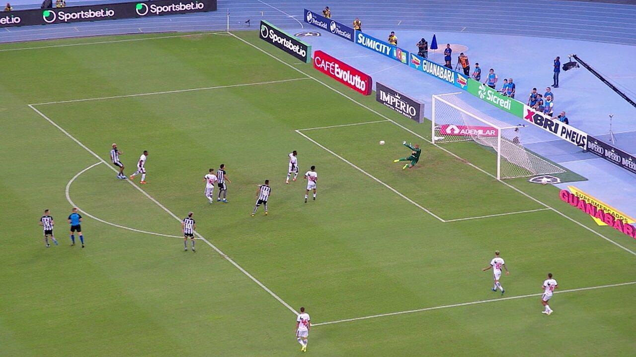 Melhores momentos de Botafogo 1 x 0 Vasco pela 5ª rodada do Campeonato Carioca