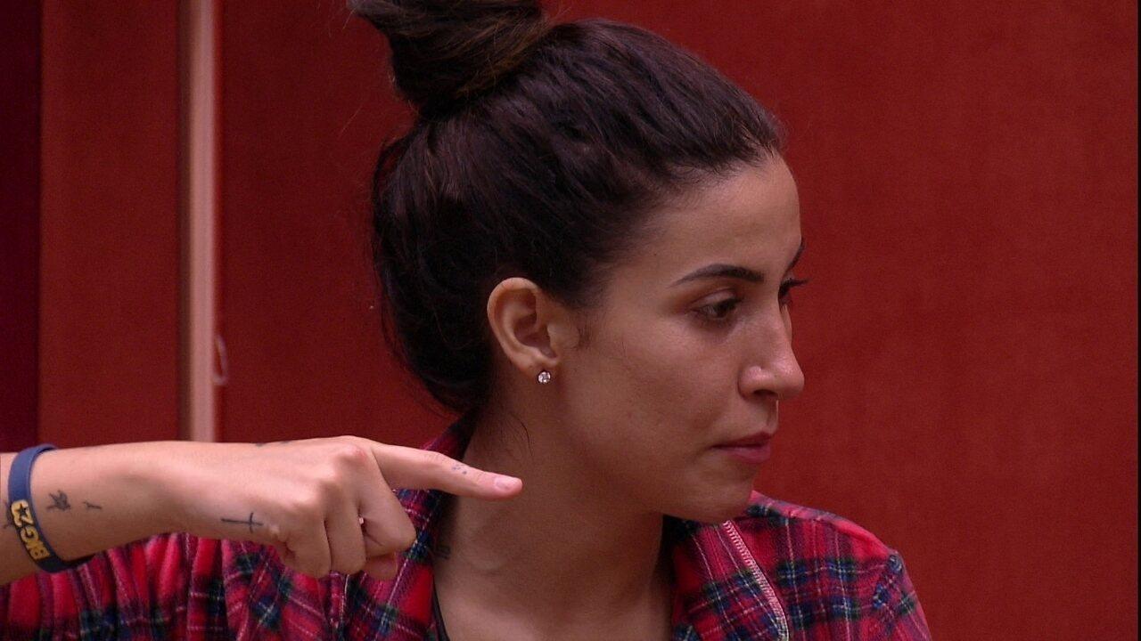 Bianca conversa com Guilherme no Quarto do Líder: 'Tiraria o Pyong'