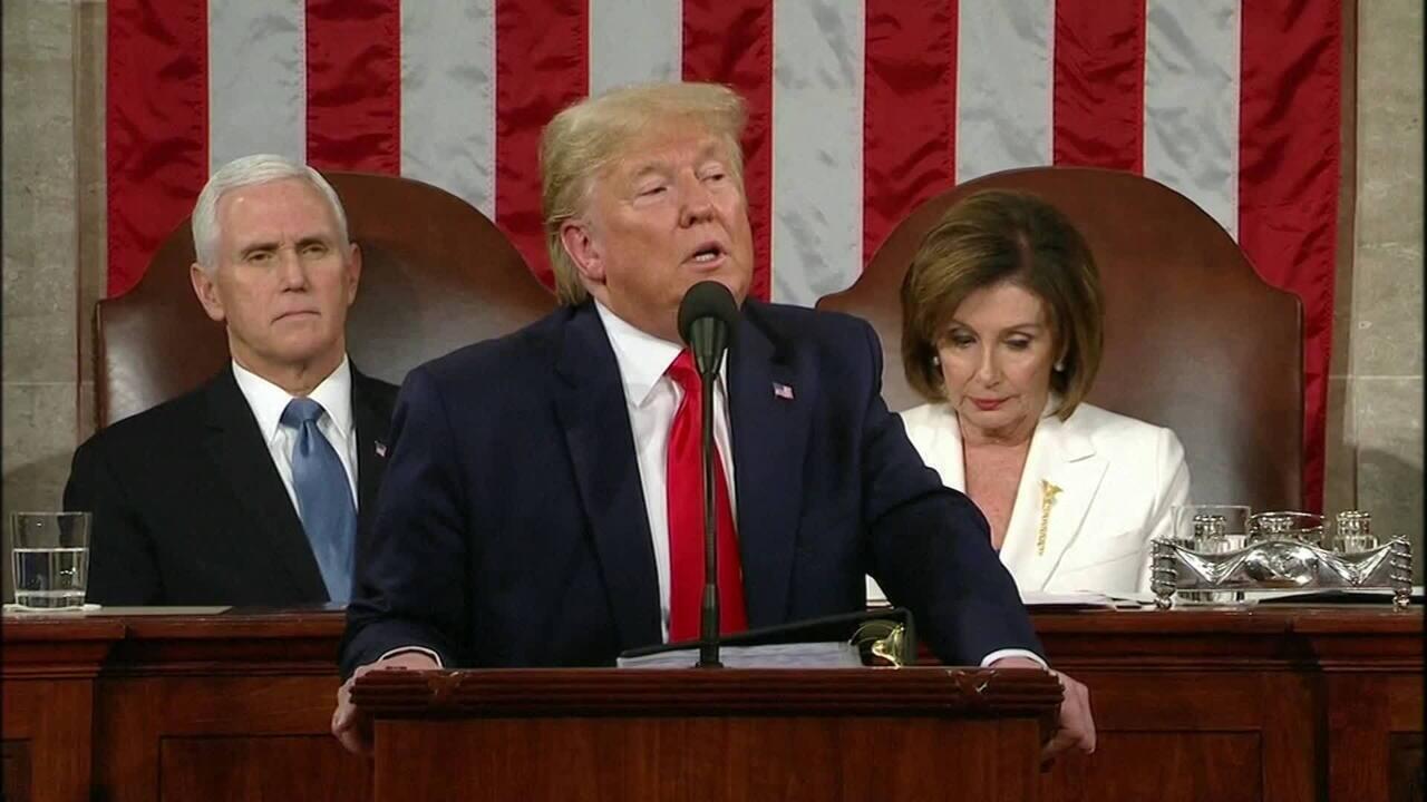 Veja a íntegra do discurso sobre o Estado da Nação do presidente Donald Trump