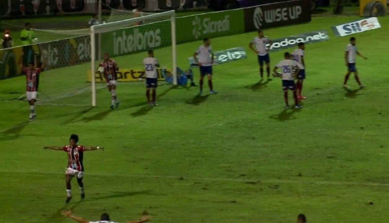 Melhores Momentos de River-PI 1 x 0 Bahia pela primeira fase da Copa do Brasil