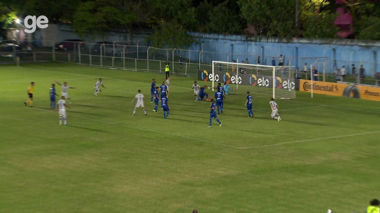 Os gols de Vitória-ES 2 x 1 CSA, pela Copa do Brasil 2020