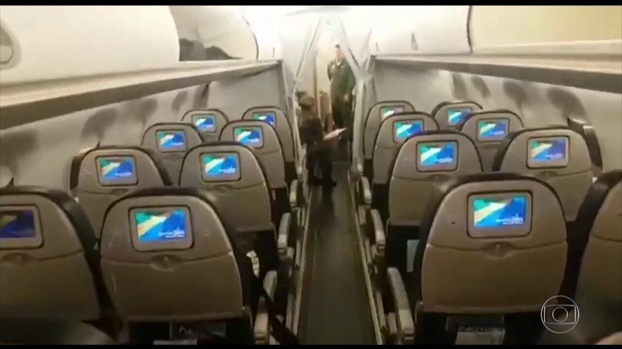 Dois aviões da FAB chegam a Wuhan, na China, na tarde desta sexta (7)