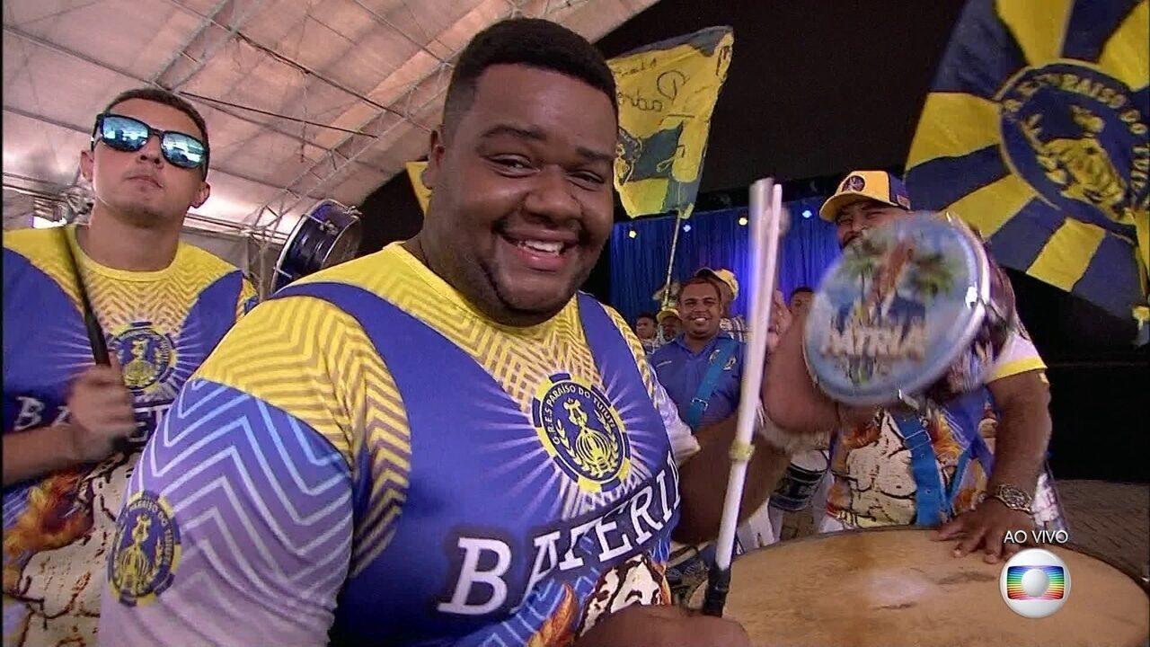 Paraíso do Tuiuti mostra seu samba para o carnaval de 2020