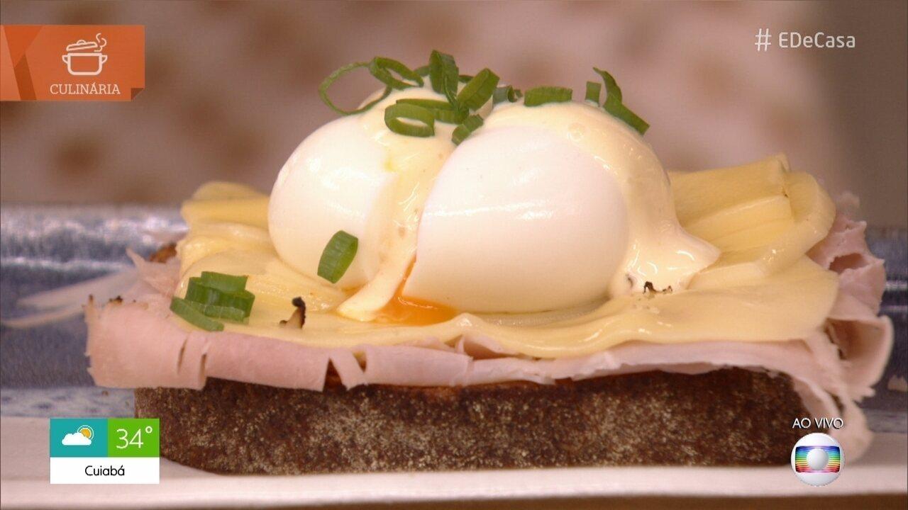 Aprenda a fazer Pão com Ovo Perfeito