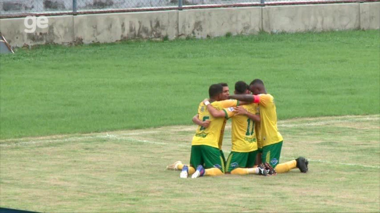 No aniversário do clube, Picos venceu o Piauí por 3 a 1; veja os gols