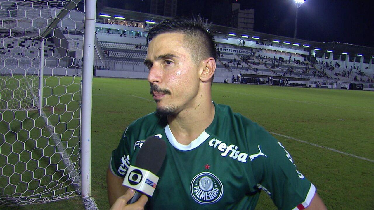 Veja a entrevista de Willian após a vitória sobre a Ponte Preta
