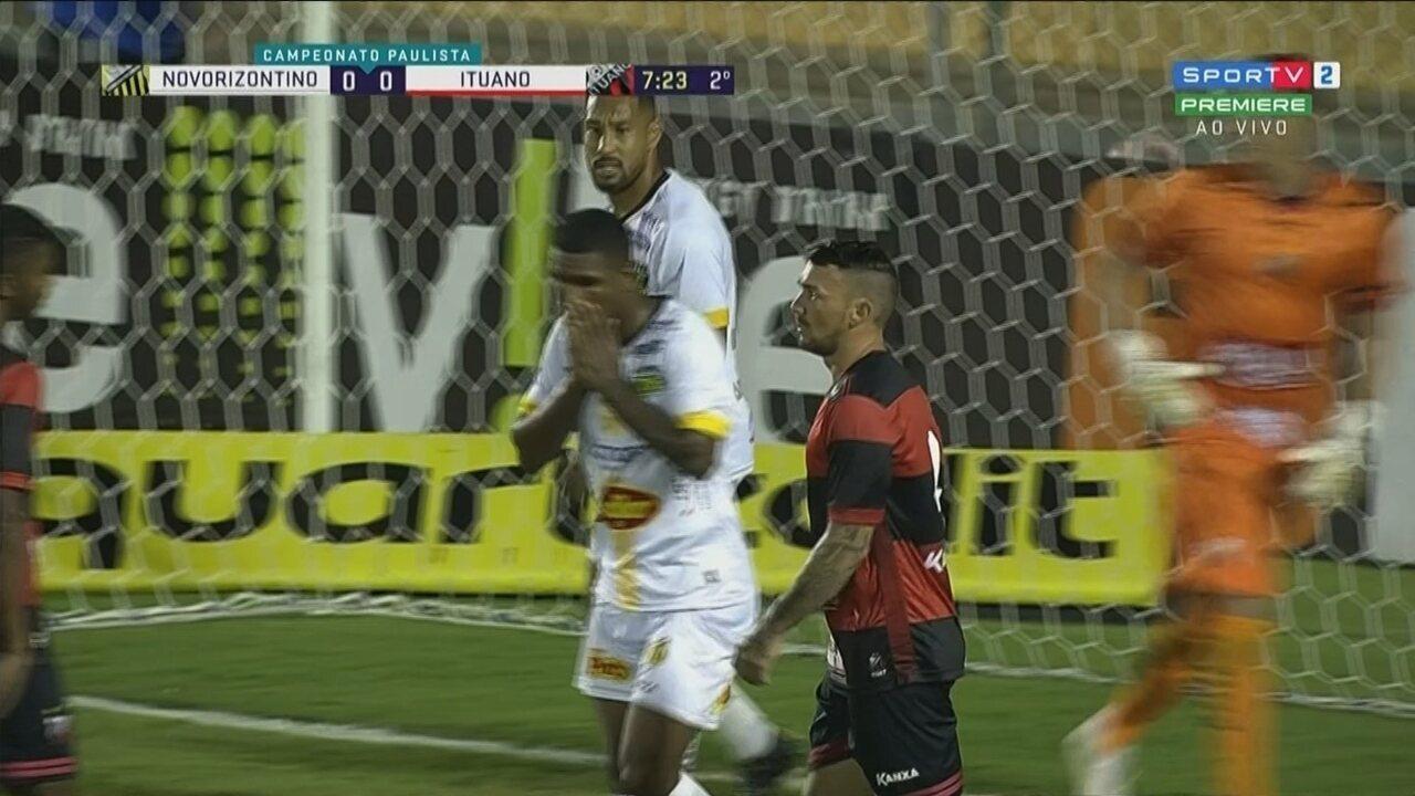 Veja os melhores momentos de Novorizontino 0 x 0 Ituano pela quinta rodada do Paulistão