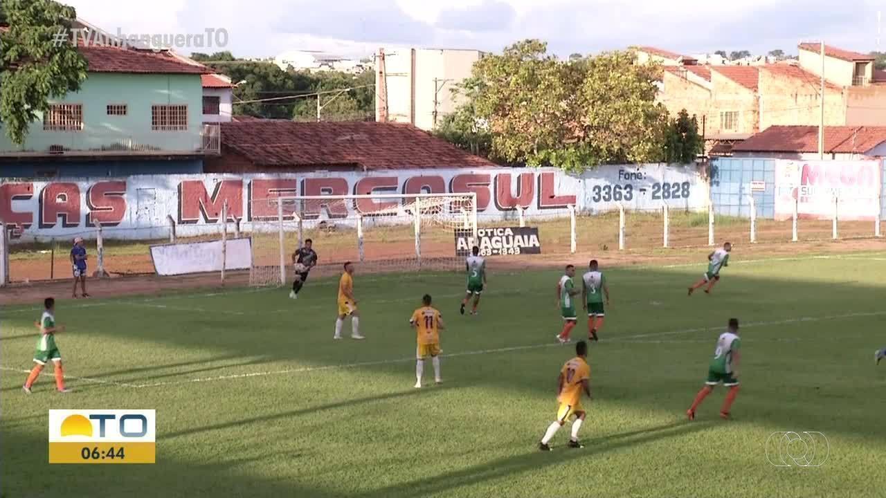 Interporto vence Nova Conquista em estreia no Tocantinense 2020