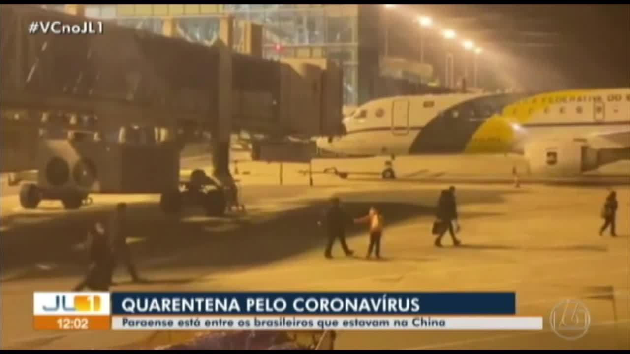 Paraense está entre os brasileiros de quarentena sob risco de coronavírus
